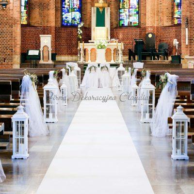 wypożyczalnia dekoracji - biały dywan