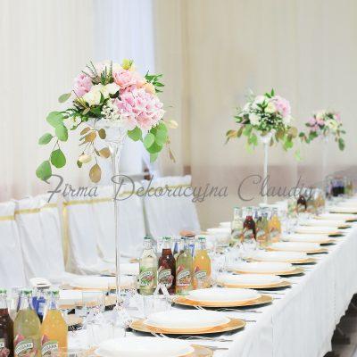 dekoracja stolika